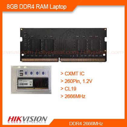 DDR4 RAM 8GB Laptop