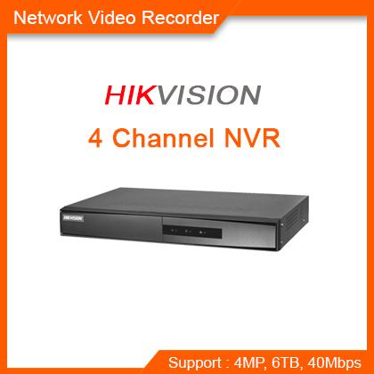 4-channel 1U NVR
