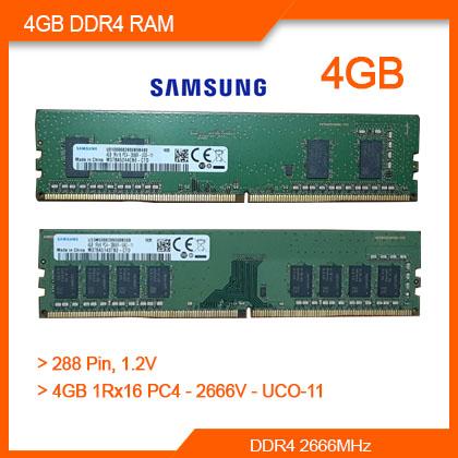 Samsung 4GB DDR4 RAM